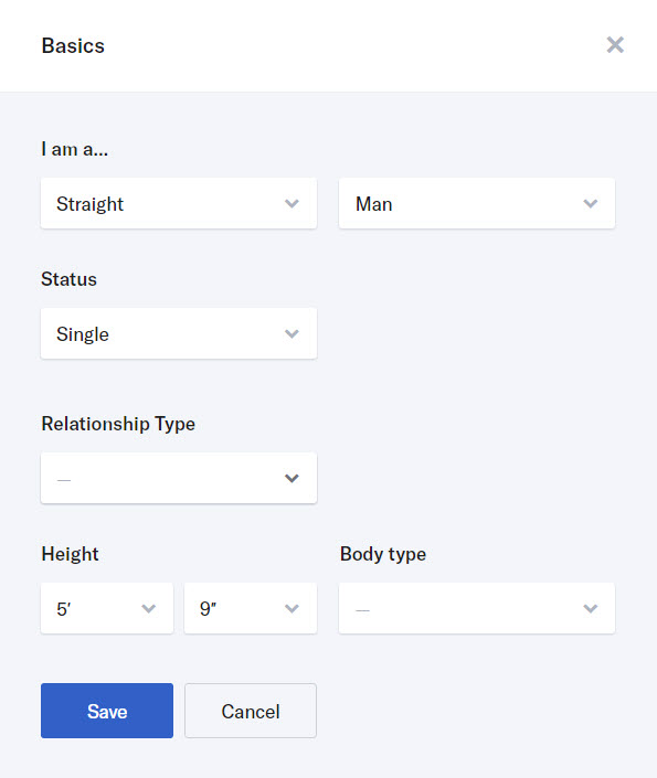 Online dating profile template menarik