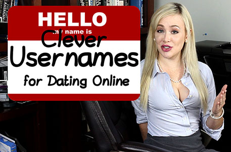 Clever online dating names