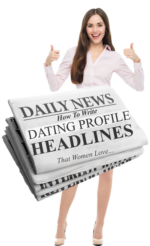 Create a dating profile headline